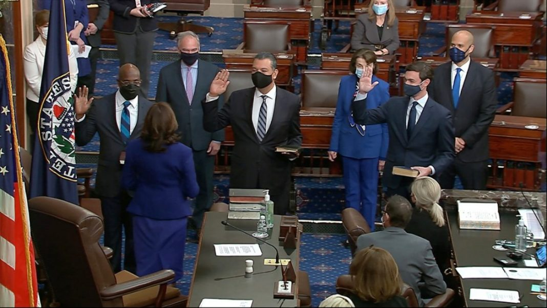 democrats officially control the senate after final