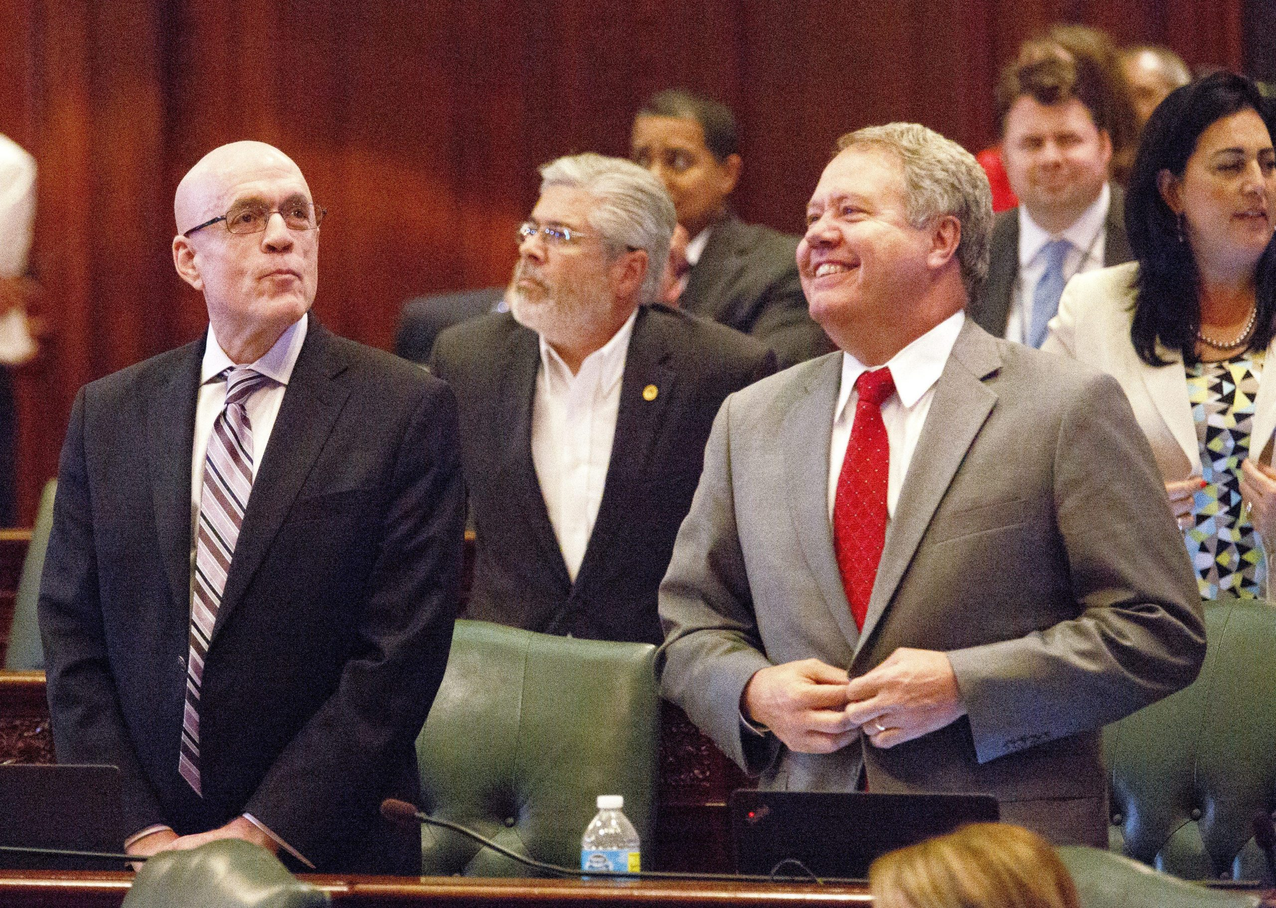 Democrats start passing parts of state budget; Republicans ...