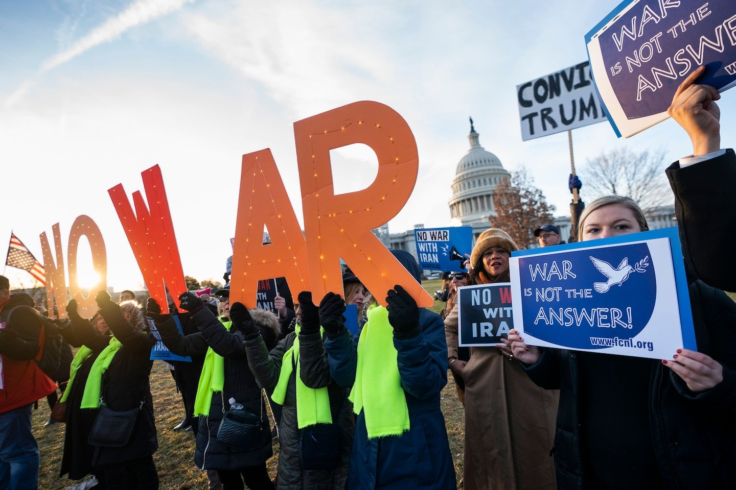 Senate resolution to limit Trump's military authority on ...