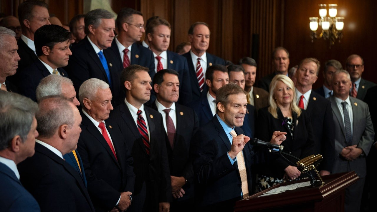 The House Republicans Impeachment Defense of Trump Is ...